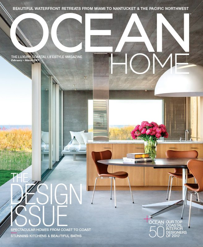 We Are Proud To Announce That Ocean Home Magazine Has Named Britto Charette Its 2017 TOP 50 Coastal Interior Designers List