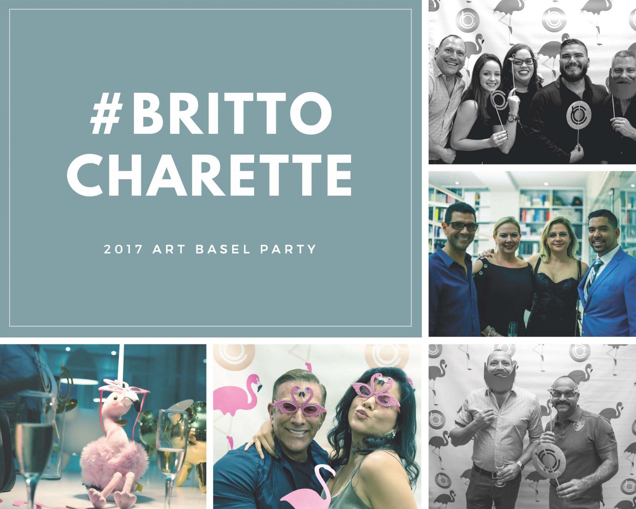 Britto Charette: Art Basel Party