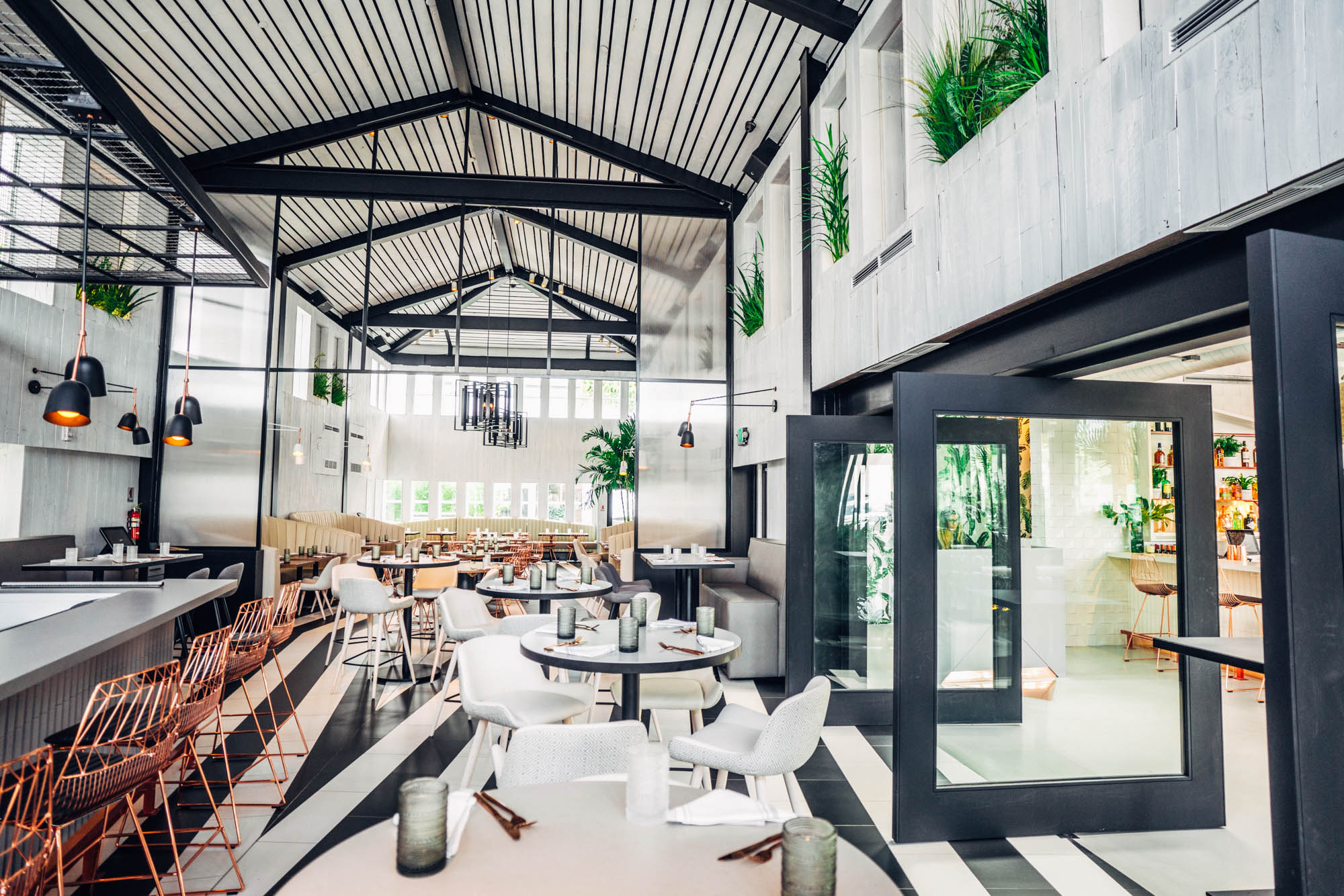 PLANTA, a vegetarian restaurant with locations in Toronto and South Beach, provides a feast for the palate and the eye. Our team loves the open, airy space and the bold geometric lines. Gift cards are available online for the Toronto location by clicking here. Stop by the South Beach location to purchase a gift card. If you're looking for a festive and cruelty-free way to ring in the New Year, Planta is accepting reservations for a special New Year's Eve seating.