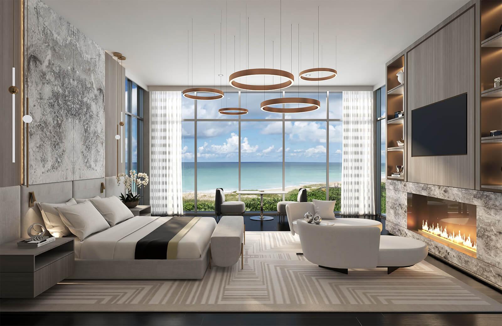BEACHFRONT RESIDENCE by Britto Charette Interior Design