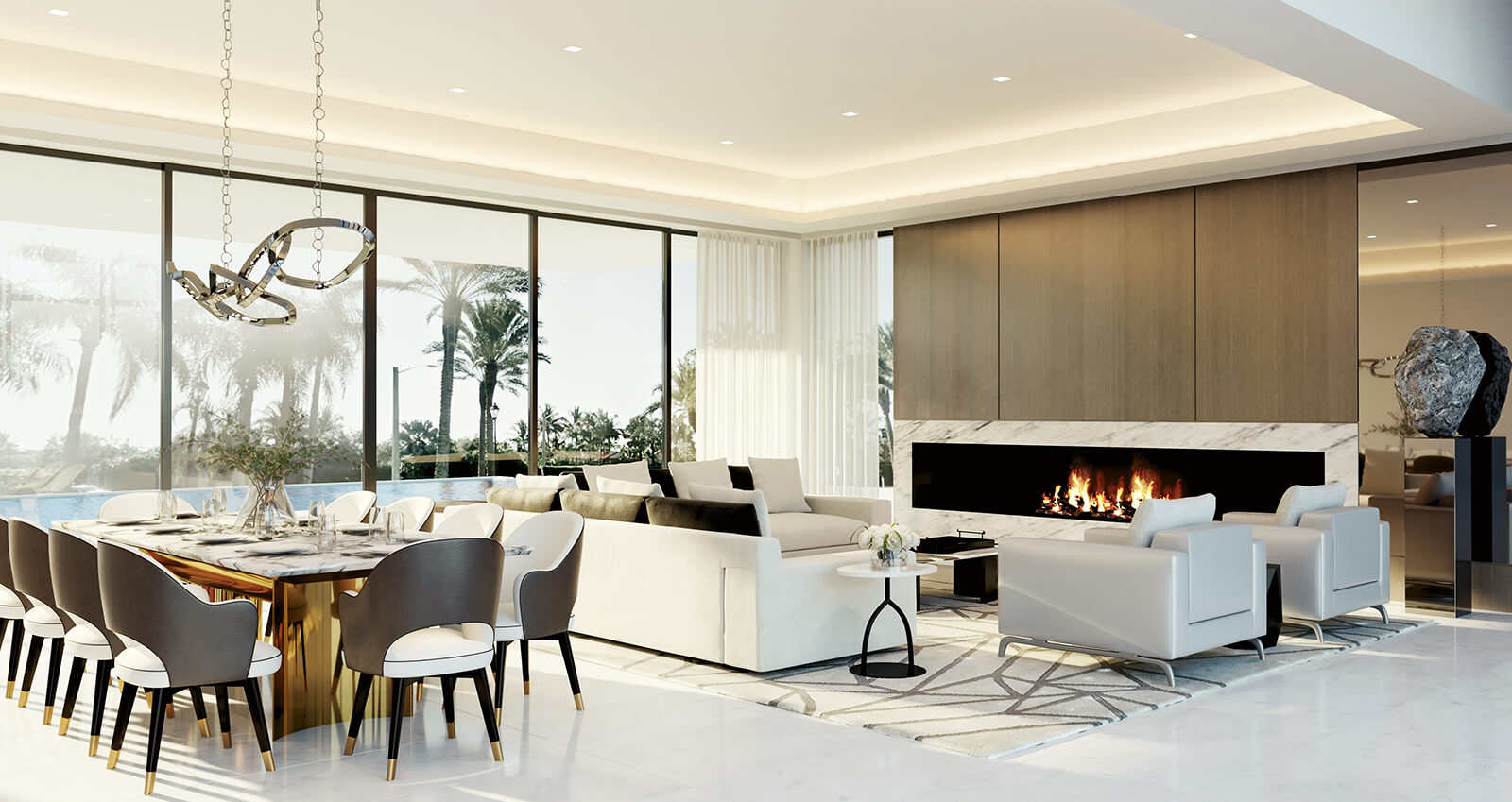 BOCA MODERN by Britto Charette Interior Design